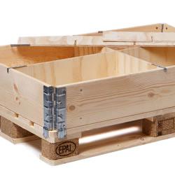 Längsteiler fuer Holzaufsatzrahmen