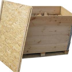 Sperrholzdeckel fuer Palettenaufsatzrahmen