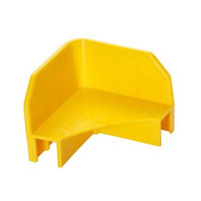Stapelecken gelb