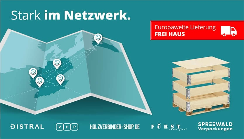 Aufsatzrahmen Distributions - Netzwerk
