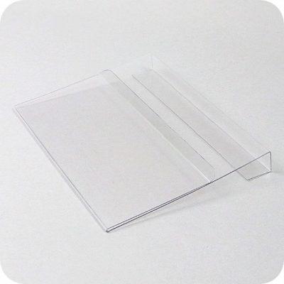 Dokumentenhalter für Aufsatzrahmen transparent